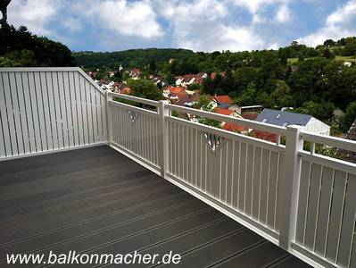 die balkonmacher aktuelle projekte balkon fotos. Black Bedroom Furniture Sets. Home Design Ideas