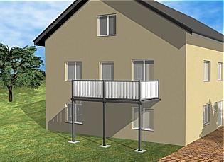 die balkonmacher balkonbausatz. Black Bedroom Furniture Sets. Home Design Ideas